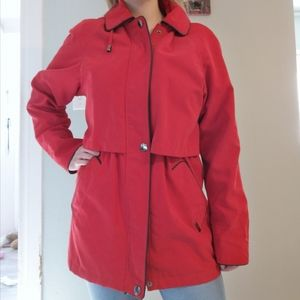 Liz Claiborne Red Spring Jacket